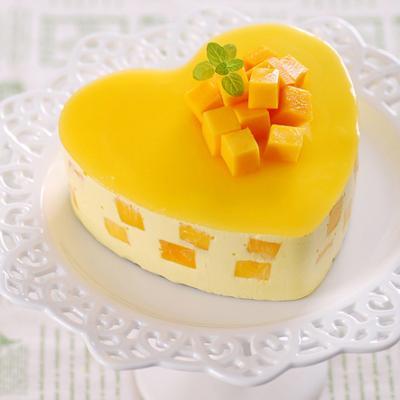 Bánh cheesecake xoài